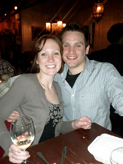 "Johanna and her fiance celebrate her ""gastrectomy anniversary"""