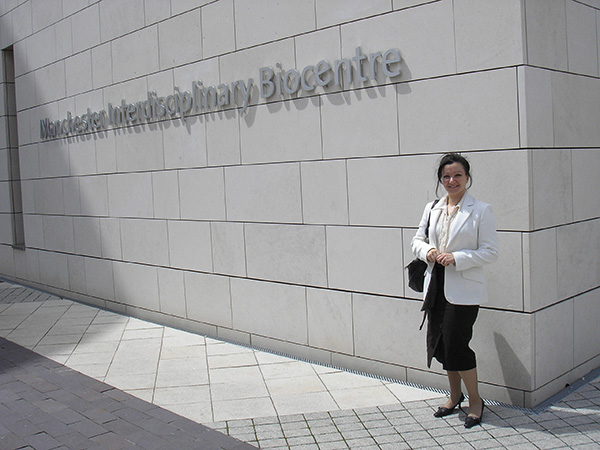 Mara at the Manchester Interdisciplinary Biocentre