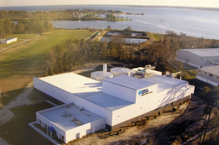 Omega Protein Processing Plant