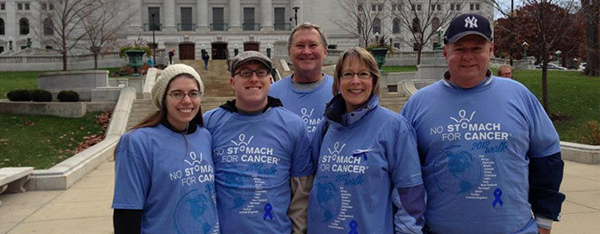 2012 No Stomach for Cancer Walk